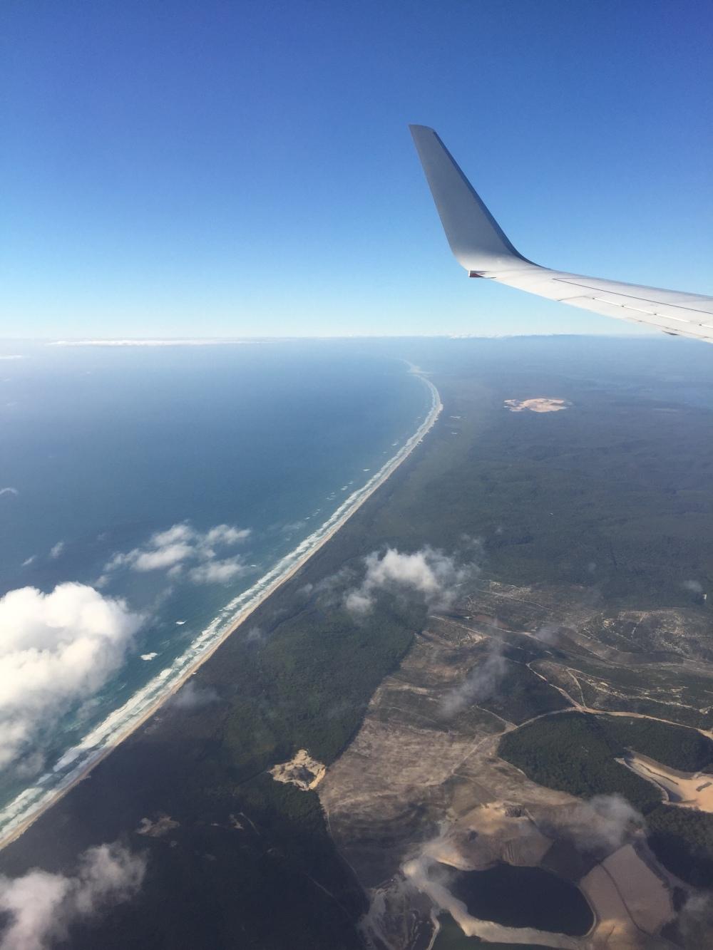 Endless Australian coastline